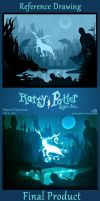 Expecto Patronum Light Box - Before And After by GreenYosh