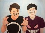 Dan and Phil by olivia808