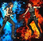 Good VS Evil by MJGIRL-XD