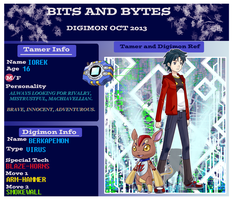 Bits and Bytes app: Iorek and Berkapemon by PEQUEDARK-VELVET