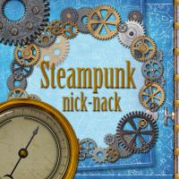 Steampunk Nick Nack by LucieG-Stock
