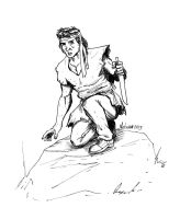 Rambo from First Blood by victomon