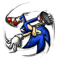 Smash Striker: Sonic by Tails1000