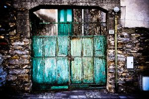 The green door 3 by puddingtown