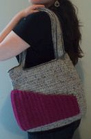 Tweed Purse by Brookette