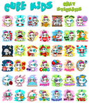 M9 Cube Kids - Chat Stickers by CrazEriC