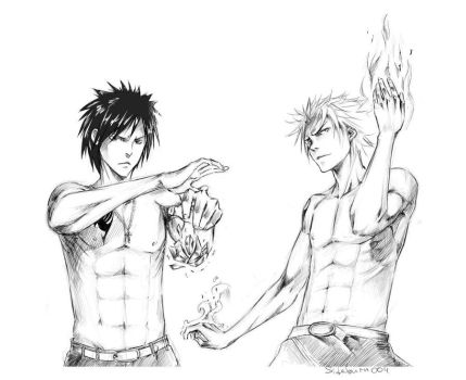 Sketch: Fairy Tail by Sideburn004