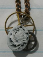 bjd cameo necklace by metal-otaku