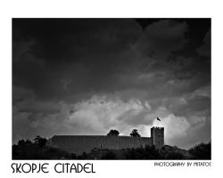 Skopje Citadel by mitatos