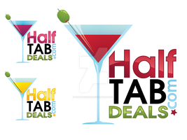 Half Tab Deals Logos by sampdesigns