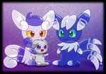 The Two Meowstic Balloons by CaninePrince