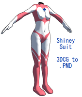 MMD- Shiney suit -DL by MMDFakewings18