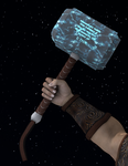 Mjolnir for DAZ and Poser by OrionPax09
