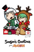 AVCon xmas 2011 by StolenStars