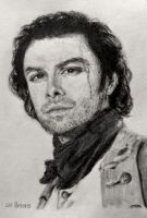 Aidan Turner as Ross Poldark by SHParsons