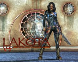 Lakota Badass by shaft73