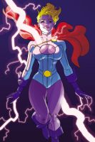 Comic Twart - Power Girl by MisterHardtimes