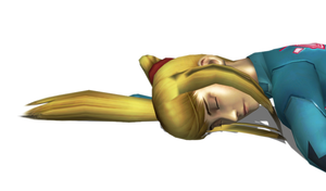 Samus Aran (Super Smash Brothers Brawl) Defeated 5 by FallenParty