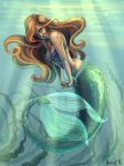 Little Mermaid Ariel by Nochiel