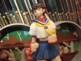 Sakura Kasugano Street fighter 4.0 Capcom 2012 by MexEmperorRamsesII