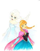 Let It Go, For The First Time In Forever by Lewis-James