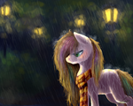 [Personal art] Painty rain by RebeccaBlueBreeze
