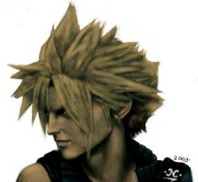 Cloud Strife by Gigandas