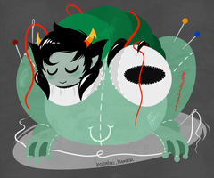 Kanaya Grub by Cursed-cat