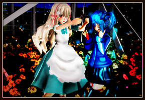 [MMD] If You're A Human by TeikaErmanella