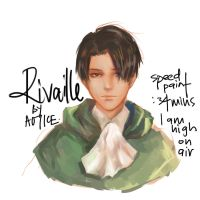 Speedpaint Rivaille by WhackThatAlice