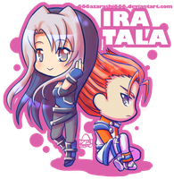 Commission - Ira and Tala by 666azarashi666