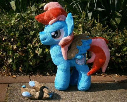 Handmade My little Pony OC Plushie by HipsterOwlet
