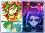 YGO: Counterpartshipping Collage by InvaderBatgirl