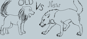 Old Vs New 1 by cyngawolf
