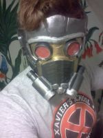 Starlord Mask Wip by endofnonentity