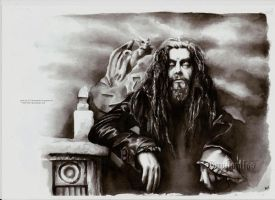 Rob Zombie by Baphomiss