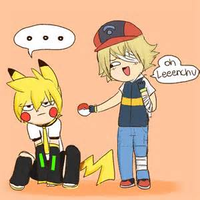 Oliver and LENCHU~ by ShineyCat111