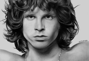 Jim Morrison by itsginns
