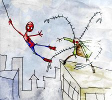 spiderman by peerro