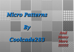 70 Micro Patterns by coolcade283