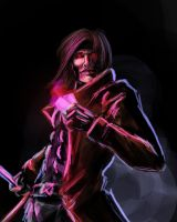 gambit speedpaint by alecyl