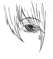 Realistic manga eye by Shujun