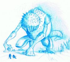 Prickly Beast by prolificlifeforms