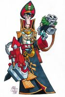 Commissar Yarrick by Chad73