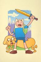 Adventure Time show at Gallery 1988, 4/3/14 by nakedDerby