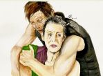 Daryl x Carol by JadedDreams1