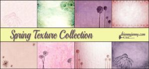 Free Spring Texture Collection + Brushes by ibjennyjenny
