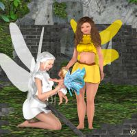 The baby fairy by Chronophontes