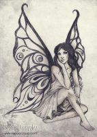 Commission - Butterfly Fairy by Bea-Gonzalez