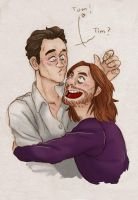 Tim Minchin and Tom Hiddleston [TimTom] by ProfDrLachfinger